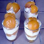 verrines aux abricots