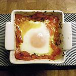 recette Oeuf à la Basquaise...presque