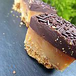 recette Millionnaire shortbread ou twix maison