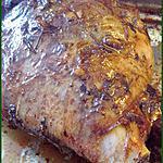 recette Gigot d'agneau confit de 5 heures parfumé au thyn et au romarin