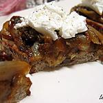 recette Toasts au confit d'endives au coquelicot et chèvre frais