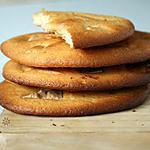 recette Maxi Cookies Ultra moelleux Ricotta - Chocolat blanc ( sans beurre)
