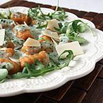 recette Gnocchi maison patate douce, béchamel aillée roquette