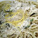 recette Spaghetti de Kamut aux courgettes et au citron