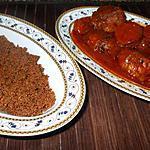 recette Boulettes maison....avec son anchoïade.....( Recette sicilenne....)