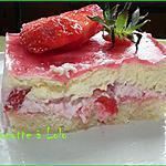 recette Petit bavarois aux fraises et chocolat blanc