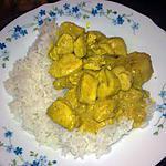recette curry aigre doux de poulet