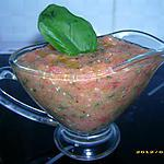 recette sauce au pistou ( 1ère version, sans cuisson )
