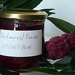 recette Confiture nectarines/fraises