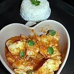 recette curry de poulet au chou fleur