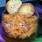 recette salade de carottes rapées à la coriandre