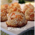 recette Macarons tropicaux à la noix de coco