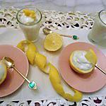 recette la mousse légère au citron