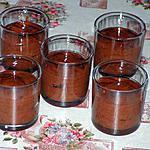 recette Mousse aux éclats de menthe