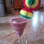 recette Smoothie-Sorbet fruits rouges