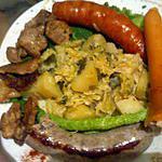 recette LE CHOUDOU DU CHELLOIS (nom donné par mon fils) recette pour gros mangeur