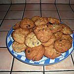 recette Cookies aux  2 chocolats