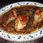 """recette """" Pilons de Poulet aux oignons caramélisés....."""