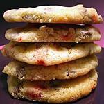recette cookies choco lait et pralines roses