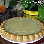 recette Pim's géant Chocolat blanc /cerise