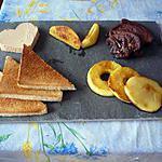 Duo foie gras/pommes caramélisées