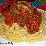 recette Sauce bolognaise à la sauce soja