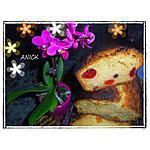 recette Cake aux fruits confits bigarreaux –papaye-ananas