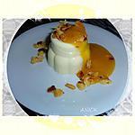 recette Panacotta à la fleur d'oranger et son coulis de pêches jaunes