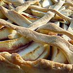 recette tarte aux pommes et framboises