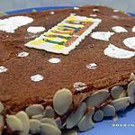 recette fondant tout chocolat ( gâteau pour les 11 ans de mon fils Anthony )