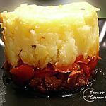 recette Hachis parmentier de chorizo et poivrons