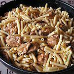 recette Ragoût de porc aux macaronis