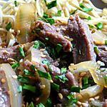 recette Sauté de boeuf teriyaki