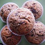 recette muffins miel et pépites de chocolat