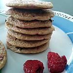 recette Galettes de framboises diététique