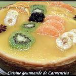 recette cheesecake aux fruits exotiques