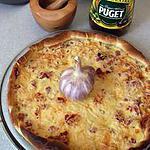 recette la quiche,extra et terrestre ,se métamorphose ( rapide,facile et bonne).
