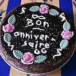 recette gâteau d'anniverssaire pour Gg par Gg ,commenté et mangé par Gg(miam,miam!!).