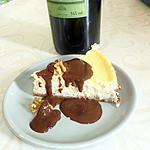 recette Cheese-cake grenoblois : noix et Chartreuse