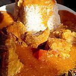 Boeuf au curry et garam massala (recette de mr gourmand)