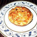 recette Minis QUiches au boursin...( Pâte  spéciale maison ... à la Kapi...)