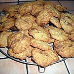 recette Cookies chocolat blanc et pralinoise