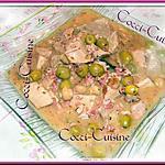 recette Sauté de veau aux olives vertes
