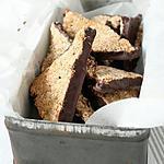 recette biscuits / triangles noix de coco chocolat { sans oeuf, ni beurre }