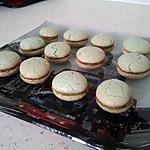 recette Macarons a la pistache