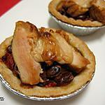 recette Tartelettes épicées au poulet « chili style »