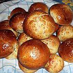 recette Krichlattes ou Petits pains au lait et aux graines de sésame