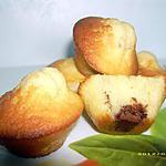 recette petits moelleux fourrés nutella