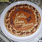 recette tarte choco/bananes