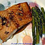 recette Filet de saumon laqué à l'érable